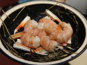 Les plats aux cuissons précises et aux saveurs originales et affirmées qui reflètent le travail du chef japonais. © Jean Bernard