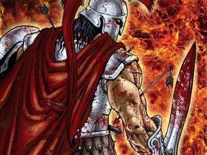 La folie d'Arès, dieu cruel et sanguinaire de la mythologie grec et un écho de la cruauté abominable de Dioclétien.