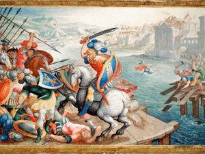 Horacius Cocles, le chevalier Bayard, époque différentes, même légende...