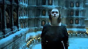 Le dieu multifaces ( le démiurge ) suit Arya à chaque instant, mais aussi chaque être humain du monde de Westeros, jouant avec les incarnations comme avec des pions pour son plan, son Grand Oeuvre, son Ordre des Siècles...