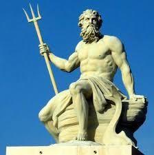 Poséidon/ Neptune et son trident, alias le démiurge et sa trinité démoniaque.
