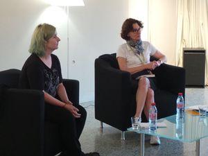 Rencontre émouvante et non dénuée d'humour avec Clara Beaudoux.