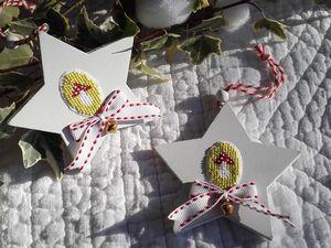 Champignons (Christiane Dahlbeck) Maison flocon et cadeaux (grille de Cathy, Thé framboise)