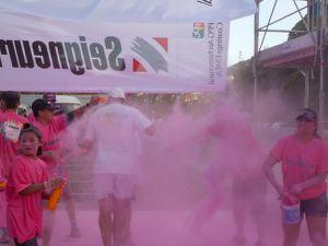 Rainbow race: la course haute en couleurs
