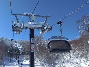 NOZAWA ONSEN: neige à volonté