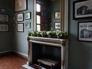 Quelques compositions florales qui ornent les pièces du château