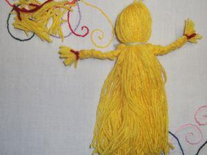 DIY poupée en laine