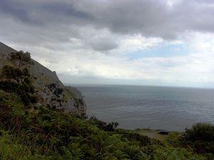 Quelques photos de u passage par la côte.