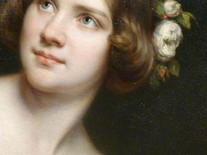 A la National Portraits Gallery : Elisabeth 1er et une charmante jeune fille.