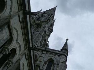 On commence par un peu de spiritualité, la cathédrale de Cork, fort jolie.