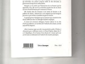 Alain Lamaison, Une dame de Chalosse (Armantine), tome 1, Orthez, Editions Gascogne, mars 2017, 237 p.
