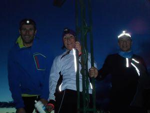Trail nocturne à la Roche Veyrand pour les vétérans ...