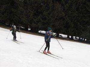 Ski alpin au Col de Porte le 24/02/17