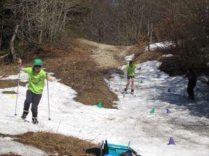 Summer biathlon dans les Entremonts le 08/04/17