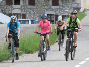 Journée cyclo dans le Dauphiné le 10/06/17
