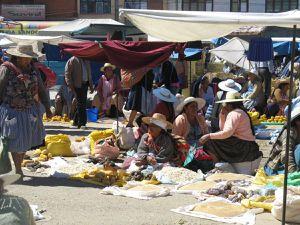 Autour de Cochabamba.  18/22 juillet 2015