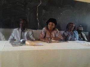 Le 31 mars 2015, l'UNAPEES à rencontré l'Inspection de l'Enseignement et de la Formation de Grand Dakar