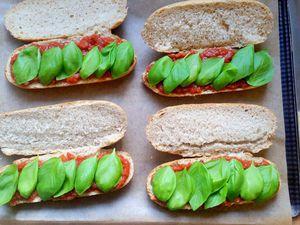 Sandwiches aux boulettes