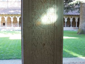 Moissac, l'abbaye et son cloître