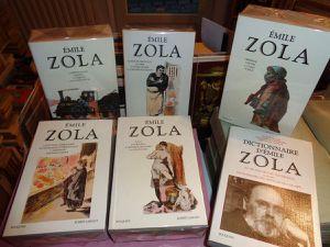 Emile ZOLA aux éditions BOUQUINS