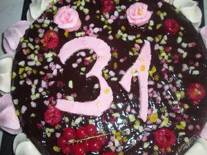 Voici les gâteaux que j'ai réalisé pour l'occasion
