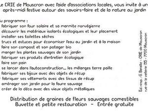 """AVRIL 2010 - Atelier Récup' """"Fabrication d'un Kit de raccommodage"""" - CRIE de Mouscron"""