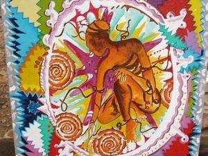 CENTRAFRIQUE : Béatrice Ella Mossongo Yalesso - artiste peintre