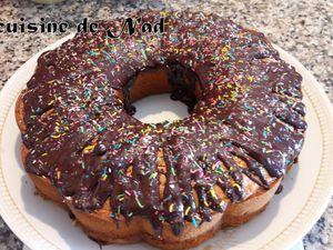 CAKE  MOELLEUX A L'ORANGE