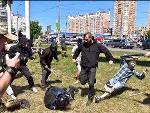Affrontements avec la police