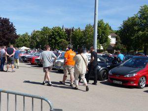 Rassemblement mensuel Classic auto au Champ de Mars