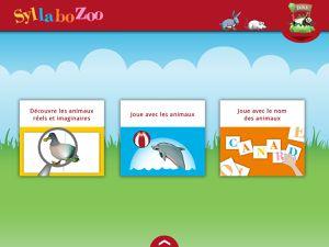 Syllabozoo, l'application