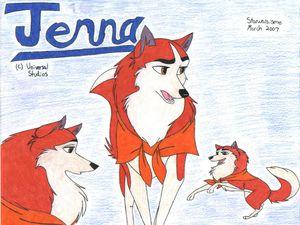 L'arrivée de Jenna