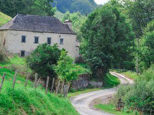 Images d'Oloron Sainte marie et du Pays basque, il y a presqu'un an