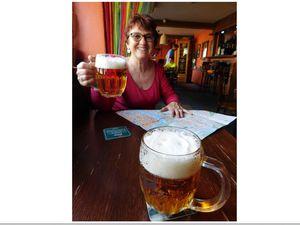 Le sablu: restaurant au décor original et à la cuisine très raffinée. Et partout la bière!