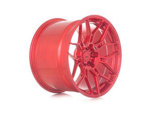 ADV7 MV1 Gloss Red Over Brushed Aluminum