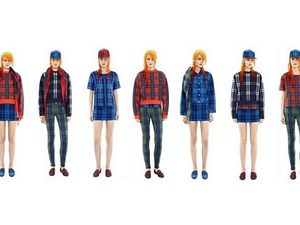 ACNE STUDIOS ET SA COLLECTION UNE TOTAL TARTAN EXPERIENCE