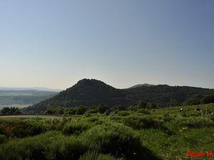 Les monts d'Auvergne.