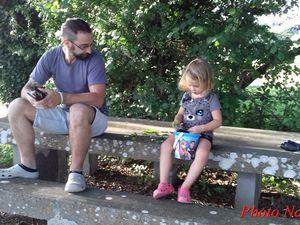 Père et fille.