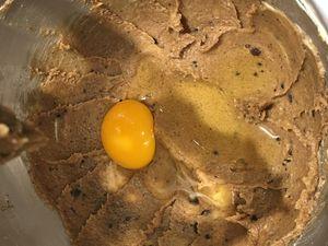 Préparation de la pâte à cookie