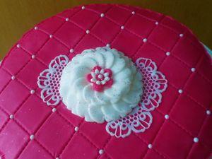Gâteau Girly capitonné