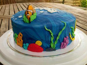 Gâteau Nemo et Dory