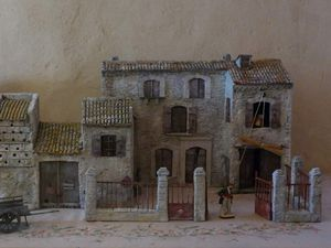 Ferme de château de Bezouce ( Gard) 17ième siècle