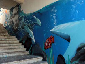 Le street-art à Sesimbra