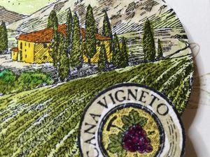 Carte &quot&#x3B;Invitation&quot&#x3B; viticole... de ma nouvelle région