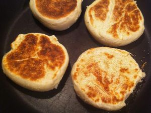 Muffins anglais (au cook'in)