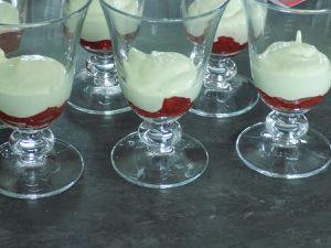 Trifle fraise/pistache et speculoos