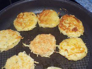 Röstis ou galettes de pomme de terre