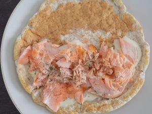 Chausson au saumon dukan