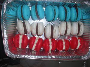 Drapeau tricolore &quot&#x3B;Macarons&quot&#x3B;
