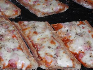 Baguettes pizza